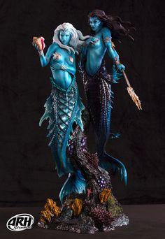 ARH Studios Statue 1/4 Twin Mermaids Regular Ver. 68 cm