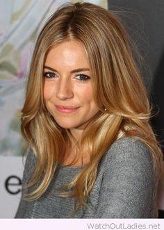 Wonderful golden blonde hair color