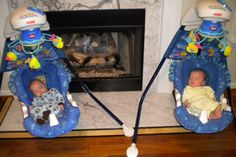 Twiniversity Tips: When did you get rid of your infant swings?