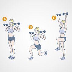Learn the Workout That Got Khloé Kardashian Her 'Revenge Body' Khloe Kardashian Revenge Body, Khloe Kardashian Workout, Insanity Workout, Best Cardio Workout, Workout Fitness, Fitness Routines, Workout Routines, Workout Plans, Workout Ideas