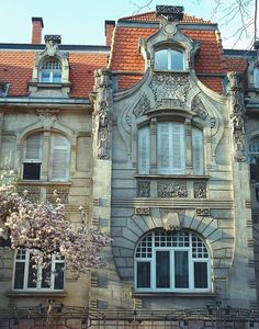 METZ (LORRAINE) - 16 avenue Foch Villa Wildenberger, construite en 1903 par l'architecte Karl Griebel