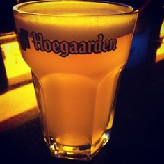Hoegaarden. Can't go wrong with this beer.