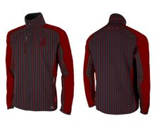 Wholesale Daringman Red And Mauve Striped Jacket Suppliers