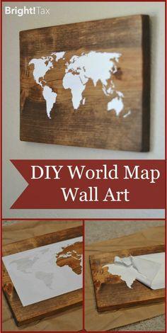 #DIY Wall Art - major cool points!