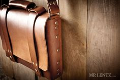 Leather Briefcase Leather Bag Men's Leather Bag Leather por MrLentz