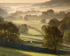 Littondale Valley - Yorkshire Dales at Dawn