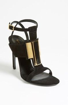 In love: Saint Laurent 'Janis' sandal