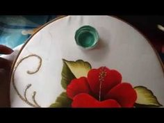 Pintura en tela carpeta tulipanes # 2 con cony - YouTube