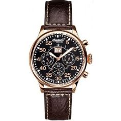 Ingersoll Men's IN1824RBK Monticello Watch - Available now at SalmaWatches.com  $499.95