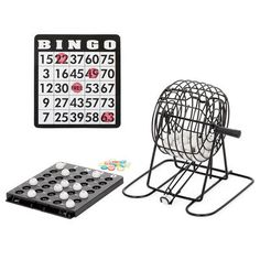Retro Bingo Game Set.... Great idea for any type of party/entertaining! Prizes can be as simple as a pretty baked good... Everyone can play!