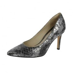 2f67b536c576 Check out our stylish collection of womens heels here at Shoetique. Silver  ShoesClarksMetallicKitten ...