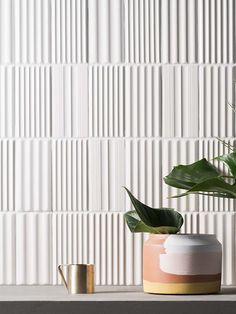 A leading resource for natural stone, porcelain tile & slabs, engineered stone and other materials for commercial and residential projects. Wooden Wall Panels, 3d Wall Panels, Curved Walls, Textured Walls, Stone Wall Design, Cladding Materials, Clay Tiles, Wall Cladding, Textured Wallpaper