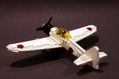 /by psiaki #flickr #LEGO #plane