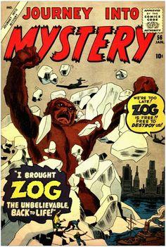 Journey into Mystery.  Zog.   #JourneyIntoMystery