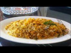 Qabooli Biryani -  Hyderabadi Chana Dal Biryani