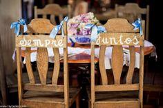 Plaquinhas das cadeiras