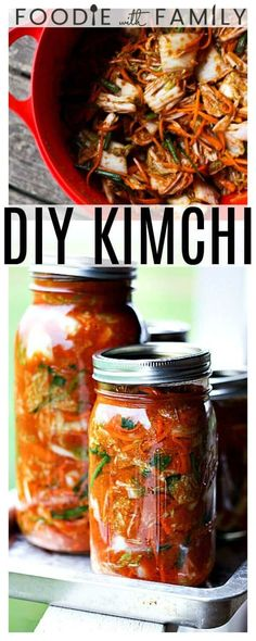 This fragrant, simple, authentic, healthy Easy, Fast Kimchi Mak Kimchi recipe can be made in any kitchen. This tutorial takes the mystery out of making it yourself! Vegan Kimchi Recipe, Korean Kimchi Recipe, Fun Easy Recipes, Asian Recipes, Healthy Recipes, Vegetarian Recipes, Oriental Recipes, Fast Recipes, Salads