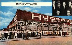 Going to Hudsons Big Country Store, in Coalgate, OK during the 70's and early 80's.