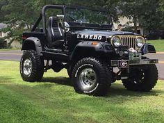 Black jeep CJ