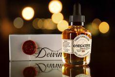 O Negative vape elixir by Deivine