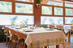 Restaurante en Sort, Lleida, de Hotel Les Brases y sus menús