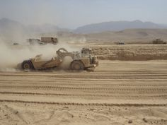 BALKH PROVINCE, Afghanistan – Camp John Pratt construction reached another milestone this week as the 875th Engineer Company (Horizontal) completed the large earthen dining facility pad and started excavation of the storm water retention pond.