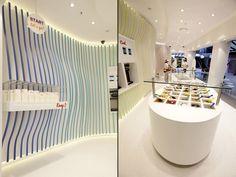Yo Story frozen yoghurt store by ORO design, Sydney   Australia store design