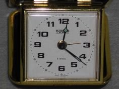 Alter mechanischer Reisewecker Blessing Alarm Clock 60e