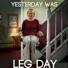 Haha great gym humor!