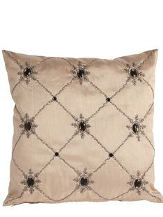 Caleche cushion with jewelled diamond trellis design by Laurence Llewellyn Bowen Fast Furniture, Top Furniture Stores, Kitchen Furniture, Furniture Design, Furniture Websites, Trellis Design, Filing System, Showcase Design, Discount Furniture