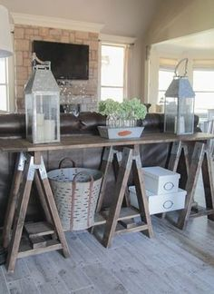Rustic home décor and accessories from galvanized buckets to distressed wood signs. Add industrial accents to your rooms with our selection of metal lampshades. Fashion cozy displays, or store your books and magazines. Every piece in this collection tells a story that will add to the uniqueness of your home.