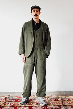 Fishtail Parka, Boiler Suit, Quilted Vest, Contemporary Fashion, Men Looks, Fashion Shoot, Beams, Street Wear, Menswear
