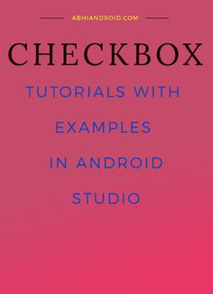 In #Android, #CheckBox is a type of two state #button either unchecked or checked in #Android. Or you can say it is a type of #on/off switch that can be toggled by the users. You should use #checkbox when presenting a group of selectable options to users that are not mutually exclusive. #CompoundButton is the parent class of #CheckBox #class.