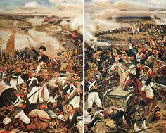 épisode de la bataille de  Borodino   N. richement