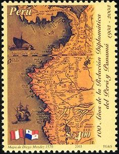 carlopeto's Stamps - PERU y PANAMA  2003