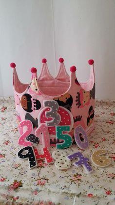 Corona de Cumpleaños!! / Cosetes de Marta - Artesanio