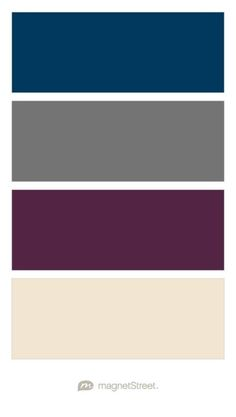 Wedding Decor Photos Navy Charcoal Custom Purple And Champagne Color Palette Created At Magnetstreet