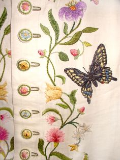 Detail of Embroidered waistcoat