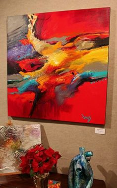 Jonas Gerard...studio in River Art District in Asheville.