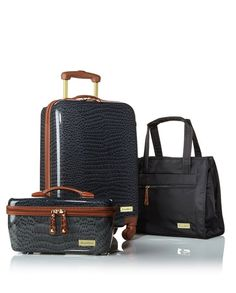 Travel with ease and elegance while keeping your contents protected. Sam Brown's luggage set is so fashionable and will keep your items safe!