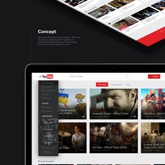 YouTube - New Concept Design on Behance