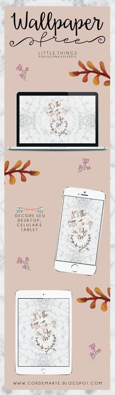 Cor de Marte | Freebie: Wallpaper Little Things.