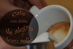¡Marchando un café con doble de ALEGRÍA y BUEN ROLLO!  ¿Quién se apunta? ;) #alegría #feliz #café #mañana #desayuno #happy #morning #coffee #breakfast