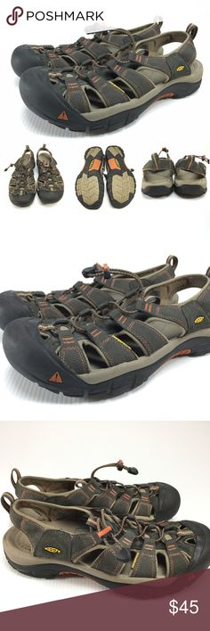 Keen Newport H2 Waterproof sport sandals G1-4 Description: Keen Newport H2 waterproof sport sandals Brand: Keen Size/Model: 11 Condition: Pre-owned - nice condition  If you have any further questions or comments please feel free to contact me. Keen Shoes Sandals & Flip-Flops
