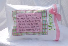 Pillowcase (actual or just paper craft) with popular bedtime prayers: http://www.whatchristianswanttoknow.com/10-popular-bedtime-prayers/