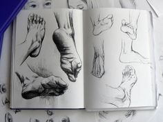love the value - feet and hands are still one of my faves to draw