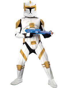 Commander Cody Costume Clone Trooper (Deluxe)