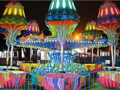 New amusement park jellyfish spinning rides for sale