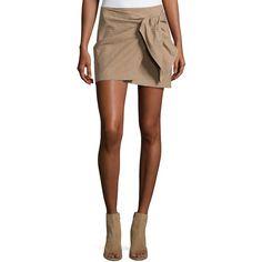 Etoile Isabel Marant Ninon Plaid Mini Skirt ($250) ❤ liked on Polyvore featuring skirts, mini skirts, beige, plaid skirt, brown plaid skirt, brown mini skirt, short plaid mini skirt and plaid miniskirts