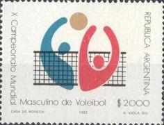 Sello: Voleibol (Argentina) Mi:AR 1592,Göt:AR 2060